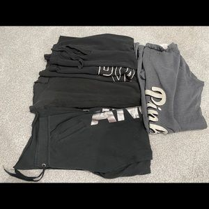 4 Pair of sweatpants by PINK